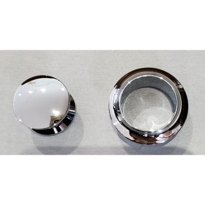 Bouton de meuble chrome